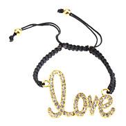 Liebe gesponnenes Armband