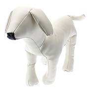 Pure White Imitation Friend Dogs Model (Assorted Sizes)