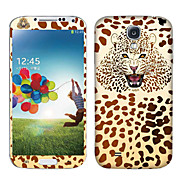 Leopards Head Pattern Body Sticker for Samsung Galaxy S4 I9503