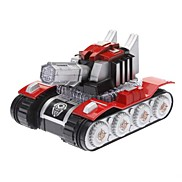 Kid's Electric Tank Toy Model Desktop Display with LED Light and Music