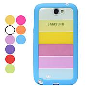 Rainbow Back Case for Samsung Galaxy Note 2 N7100