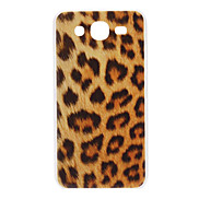 Brown Leopard Pattern Hard Case for Samsung Galaxy Mega 5.8 I9152