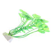 "9"" Plastic Plants Decorative Ornament for Aquarium Fish Tank"