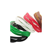 BaoGuang®Punk Style Weave Leather Bracelet(Assorted Color)