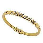 Eruner®Romantic Golden Plated Alloy Bracelet