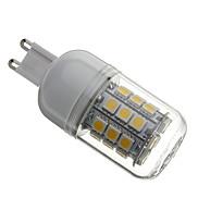 4W G9 LED Mais-Birnen T 30 SMD 5050 330 lm Warmes Weiß AC 110-130 / AC 220-240 V