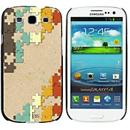 Milocos ™ Puzzle Pieces Print Style Hard Case for Samsung Galaxy S3 i9300