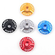 POPPY Aluminum Alloy Three-angle Headset Cover Stem Cover