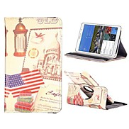 American Buidings PC+Leather 360 Degree Rotate Flip Stand Case with Elastic Belt for Samsung Galaxy Tab Pro 8.4 T320