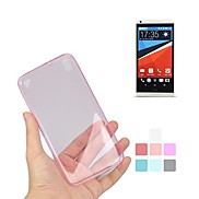 Angibabe 0.45mm Transparent Soft Jelly TPU Gel Slim Case for HTC Desire 816