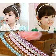Children Pearl Hair Bands Headbands