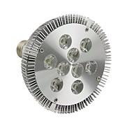 E26/E27 9 W 9 High Power LED 990LM LM Cool White Par Lights AC 110-130 V