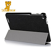 Shy Bear™ Silk Business Style Smart Leather Cover Case for Acer Iconia A1-830 A1 830 Tab 7.9 Inch Tablet