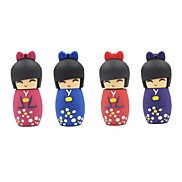 8GB Cartoon Japanese Doll USB Flash Pen Drive