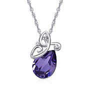 Women's Pendant Necklaces Jewelry Jewelry Crystal Alloy Unique Design Euramerican Fashion Jewelry 147 Party Other Ceremony Evening Party