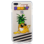 For Apple iPhone 7 7 Plus 6S 6 Plus SE 5S 5 Pineapple Pattern Painted High Penetration TPU Material IMD Process Soft Case Phone Case