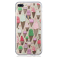 For Apple iPhone 7 7 Plus 6S 6 Plus SE 5S 5 Ice Cream Pattern Painted High Penetration TPU Material IMD Process Soft Case Phone Case