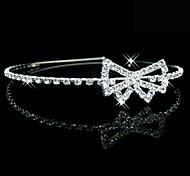 splendidi cristalli da sposa copricapo da sposa / fascia