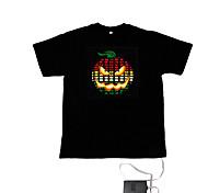 suono e la musica meter spettro attivato vu el t-shirt visualizzatore (2 * aaa)