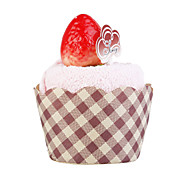 Sweet Strawberry Tea Cake Towel