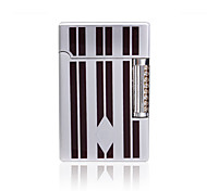 Silver and Black Rub Lighter
