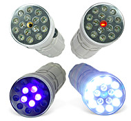 CSI 3-Mode 15-LED Flashlight With UV and Laser (10440, AAA)