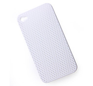 Protective Mesh Case for iPhone 4 (White)
