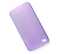 Protective Mesh Case for iPhone 4 (Purple)