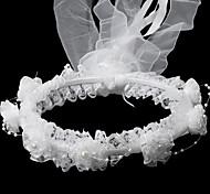 Copricapo Donne/Bambina Fasce Matrimonio/Occasioni speciali Satin/Perle false Matrimonio/Occasioni speciali