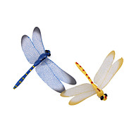 Mini Dragonfly Shaped Fridge Magnet (Random Color)