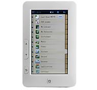 """4.7 """"pantalla táctil lector de libros electrónicos HD Media Player - pdf / ebooks txt, de vídeo y reproducción de audio, 4 GB de memoria incorporada"""