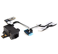 cable flexible con conector cudio para iPhone 4G (negro)