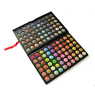 120 Lidschattenpalette Matt / Schimmer Lidschatten-Palette Puder Groß Party Make-up / Smokey Makeup / Halloween Make-up