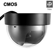 Wired Color CMOS Dome Camera with Adapter