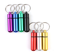 "Travel Pill Box/CaseForTravel Accessories for Emergency Metal 2""*0.6""*0.6""(5cm*1.5cm*1.5cm)"