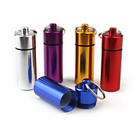 "Travel Pill Box/CaseForTravel Accessories for Emergency Metal 2.56""*0.79""*0.79""(6.5cm*2cm*2cm)"
