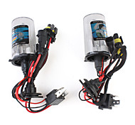 Vehicle Xenon HID Headlamp Pair (H4 6000K)