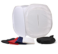 40cm Photo Light Tent with Colored Background Cloths (White)