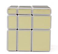 de oro irregulares 3x3x3 desafío para la mente cubo mágico IQ