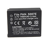 1400mAh Camera Battery S007/BCD10 for PANASONIC Lumix DMC-TZ1 SERIES