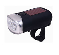 Dynamo and Solar Powered LED Bicycle Light + Standalone Flashlight