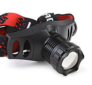 210LM 3-Mode Cree XR-E Q5 LED Flexible Direct Charge Super Bright Headlamp(1 x 18650 Battery) ZT-6521
