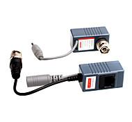 cctv cámara de vídeo de audio de potencia balun UTP transceptor (par)