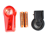 1 & 2 LED Bike Safety Strobe Light with Support - XC-744 (2 x AAA)