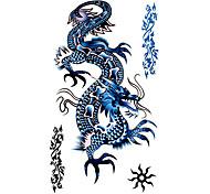 5 pièces dragons imperméables tatouage temporaire (17.5cm * 10cm)