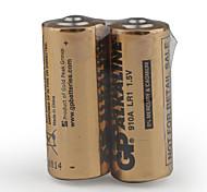910A 1.5v bateria de alta capacidade alcalina - LR1 (2 pacotes)