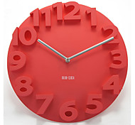 "14"" 3D Number Mute Wall Clock"