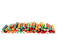 50pcs 3D Cane Stick Rod Sticker Nail Art Decoration -Fruit Sets