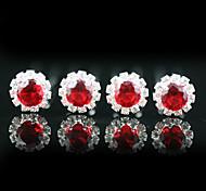 Kopfstücke 4 Stück wunderschöne Strass Hochzeit Pins / besonderen Anlass mehr Farben zur Verfügung