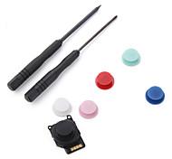 sustitución 3D analógico joystick para psp 2000 (colores surtidos)